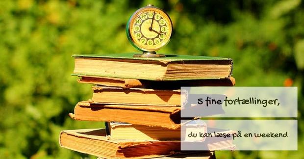 5 bøger,